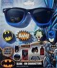 BATMAN DC 100 UV Shatter Resistant Sunglasses w/ Slide-On Character  Stickers