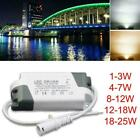LED Driver 1-25W Dimmable Ceilling Light Transformer X1 Accs Power Supply F9Y3