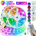 Kyпить 32FT Flexible 3528 RGB LED SMD Strip Light Remote Fairy Lights Room TV Party Bar на еВаy.соm