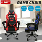 Gaming Chair Office Seating Racing Computer Pu Leather Executive Racer Au