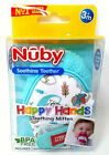 Kyпить Nuby Soothing Teething Mitten w/Hygienic Travel Bag - *Multiple Colors* на еВаy.соm