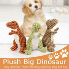 Tooth Pet Supplies Plush Molars Toothbrush Dinosaur Bite Toy Dog Chew Toys