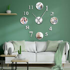 Photo Picture Frame DIY Large Wall Clock Custom Photo Decorative Living Room