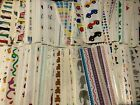 Choose One Vintage Retired Mrs. Grossman's Stickers Strip Flowers Holiday Animal
