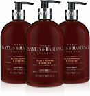 Baylis & Harding Sweet  Hand Wash, 500 ml, Pack of 3. Various fragrances