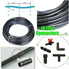 100m OR 50m POROUS LEAKY IRRIGATION HOSE PIPE +10 FREE CONNECTORS +FAST DELIVERY