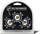 Team Golf Nhl Golf Chip Ball Markers (3 Count), Poker Chip Size With Pop Out Sma $23.99 USD on eBay