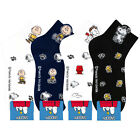 Women Character Ankle Socks Snoopy Cartoon Cotton Low Cut Sneakers Crew Lot