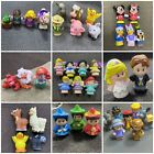 Mixed Lots Of Fisher Price Little People Disney Princess Farm Barn Animals Set