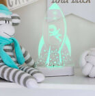 ALOKA ROCKET COLOUR CHANGING LED NIGHT LIGHT for Babies & Kids with remote