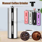 Manual Coffee Grinder Maker Stainless Steel, Hand Crank, Mill for Beans *