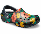 Crocs Classic Printed Floral Clogs Lightweight Holiday Beach Womens Sandals