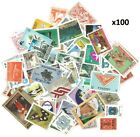 Off Paper Stamps Worldwide British Commonwealth Rare Unique UnSorted x100-x400