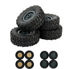 4pcs Track Wheels Spare Parts For 1/16 Wpl B14 C24 Fy001 Military Truck Rc Car