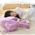"24""Large Big Soft Pillow Plush Stuffed Elephant Animal Toy Teddy Bear kids Play^"