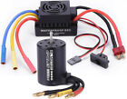 US 3650 3900KV Brushless Motor with 60A ESC Combo Set for 1/10 RC Car Truck