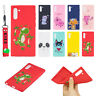 Slim Rubber Hand Strap Case Protective Cover For Samsung Galaxy Note 10 Plus