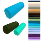 Bolster Cover*Tube Cylinder Soft Fine Sheet Pure Cotton Cushion Case Custom Size