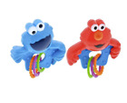 Sesame Street Rattle With Rings