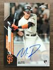 2020 Topps Chrome Baseball Rookie Autographs ~ Pick your Card