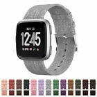 Replacement Band For Fitbit Versa Fabric Luxury Watch Sports Strap Wristband Au