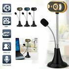 USB HD Web Cam Camera Webcam with Microphone For Desktop Computer PC Laptop