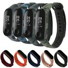 For Xiaomi Mi Band 3 4 Strap Replacement Wrist Bracelets Silicone Watch Band