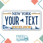 NEW!! PERSONALIZED NEW YORK License Plate 2020