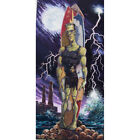 2 of A Kind by Damian Fulton Frankenstein Monster Surfers Storm Canvas Art Print