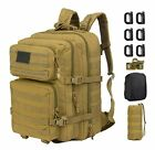 GZ XINXING 43L Large 3 day Molle Assault Pack Military Tactical Army Backpack Bu