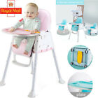 Portable Baby Toddler High Chair 3 in 1 Folding Comfortable Feeding Table Seat