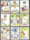 2016 TOPPS HERITAGE MINOR LEAGUE ( PROSPECTS, ROOKIE RC's ) - WHO DO YOU NEED!!Baseball Cards - 213