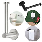 Wall Mounted Bathroom Toilet Paper Holder Rack Tissue Roll Stainless Steel Stand