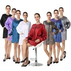 Hair Cutting Jacket Salon Hairdressing Hairdresser Gown Barber Coat Apron