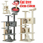 Cat Tree Activity Centre Scratcher Scratching Post Kitten Play Toy Scratch Bed