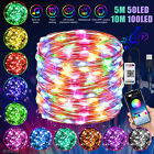 LED Christmas Tree Fairy String Party Lights Color Lamp Music Sync APP Control