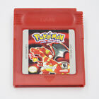 7 Pieces Game Cards Carts For Nintendo Pokemon GBC Game Boy Color Version USA