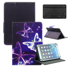 For Lenovo 7-inch Tablet Leather Floding Stand Case Cover With Slim Keyboard US