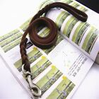 Soft Braided Leather Dog Pets Leash Lead for Training Walking Dog Pet Best