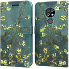 For Cricket Ovation / AT&T Radiant Max Wallet Case RFID PU Leather Phone Cover