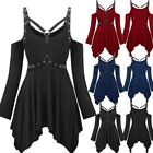 Punk Rave Gothic Mini Dress Steampunk Victorian Witch Party Swing Dress Cosplays