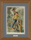 The Wranglers Framed Limited Edition Print by Bob Byerley