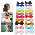 "40Pcs Boutique Girls Kids Children 2"" Grosgrain Ribbon Hair Bows Alligator Clips"