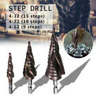 Novelty Three-Blade Hex Shank With Groove Stainless Steel Step Drill Best