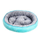 Round Pet Bed Cotton Plush Cozy Cuddler Cushion Bed for Dog Cat Nest Cushion Mat