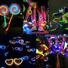 Colorful Fluorescent Stick Kit Flowing Bracelet Concert Color Light Sticks B4r8