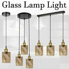 Retro LoftStyle Vintage Industrial Hanging Ceiling Pendant Light Glass LampShade