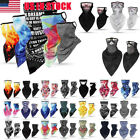 2xMotorcycle Bicycle Bandana Tube Head Scarf Neck Gaiter Face Shield Mouth Cover