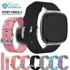 Replacement Band For Fitbit Versa 3/ Sense Woven Fabric Sports Strap Wristband