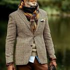 Mens Youth New Fashion Checked Plaid Lapel Blazer Casual Jacket Coat Outwear SUN